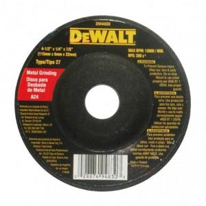 DISCO ABRASIVO PULIR METAL  T 27 4 1/2 x  1/4 DW44830
