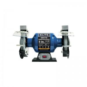 Esmeril de 8″ con motor de inducción de 3/4 HP . EB90758 ELITE
