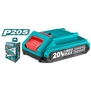 PILA RECARGABLE LITIO 20 VOLT 2 AMP TFBLI20011 TOTAL TOOLS